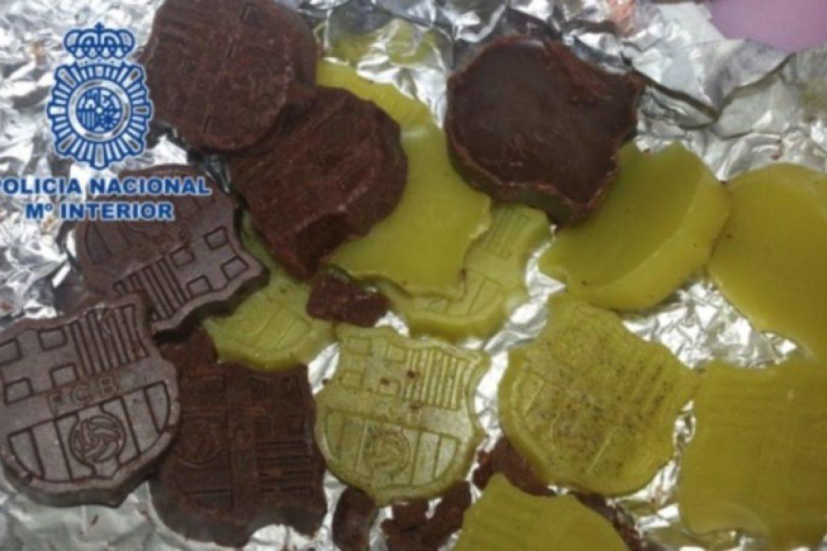 2. Detienen a repostero por hacer chocolates con marihuana y setas alucinógenas Foto:interior.gob.es. Imagen Por: