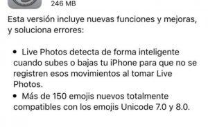 Ya pueden descargar iOS 9.1. Foto:Apple. Imagen Por: