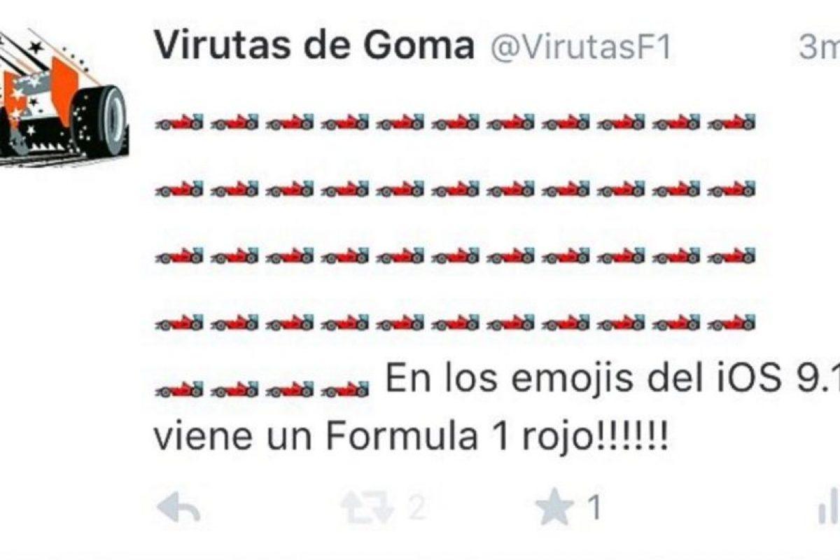 Ferrari color rojo. Foto:Twitter.com. Imagen Por: