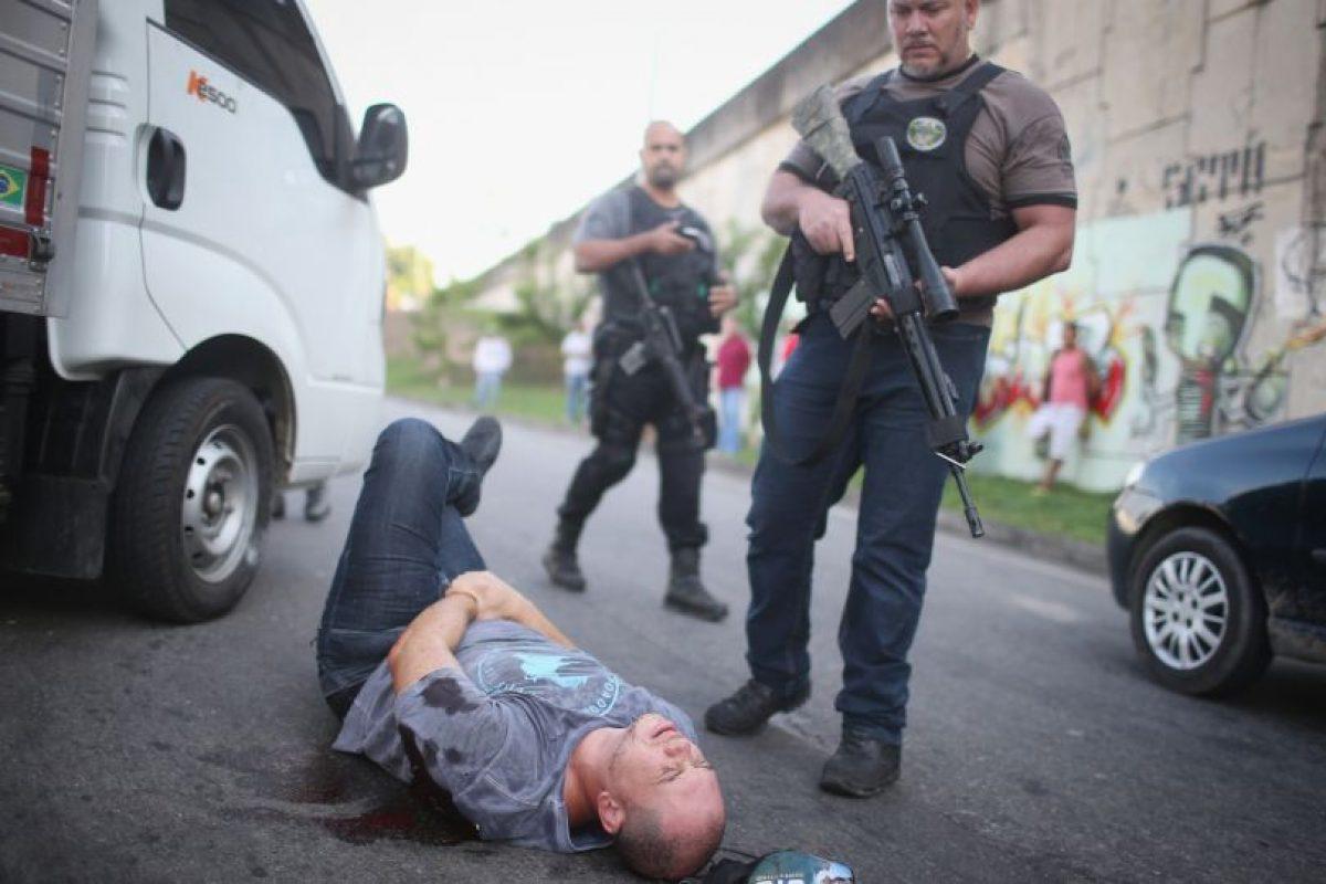 Otras veces son detenidos y la pasan muy mal. Foto:Getty Images. Imagen Por: