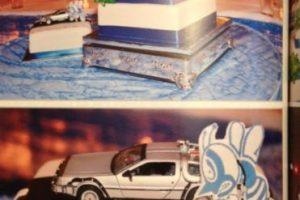Así se suben al DeLorean en 2015. Foto:Vía Twitter. Imagen Por: