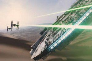 Un viejo conocido es el Halcón Milenario Foto:Lucasfilm. Imagen Por: