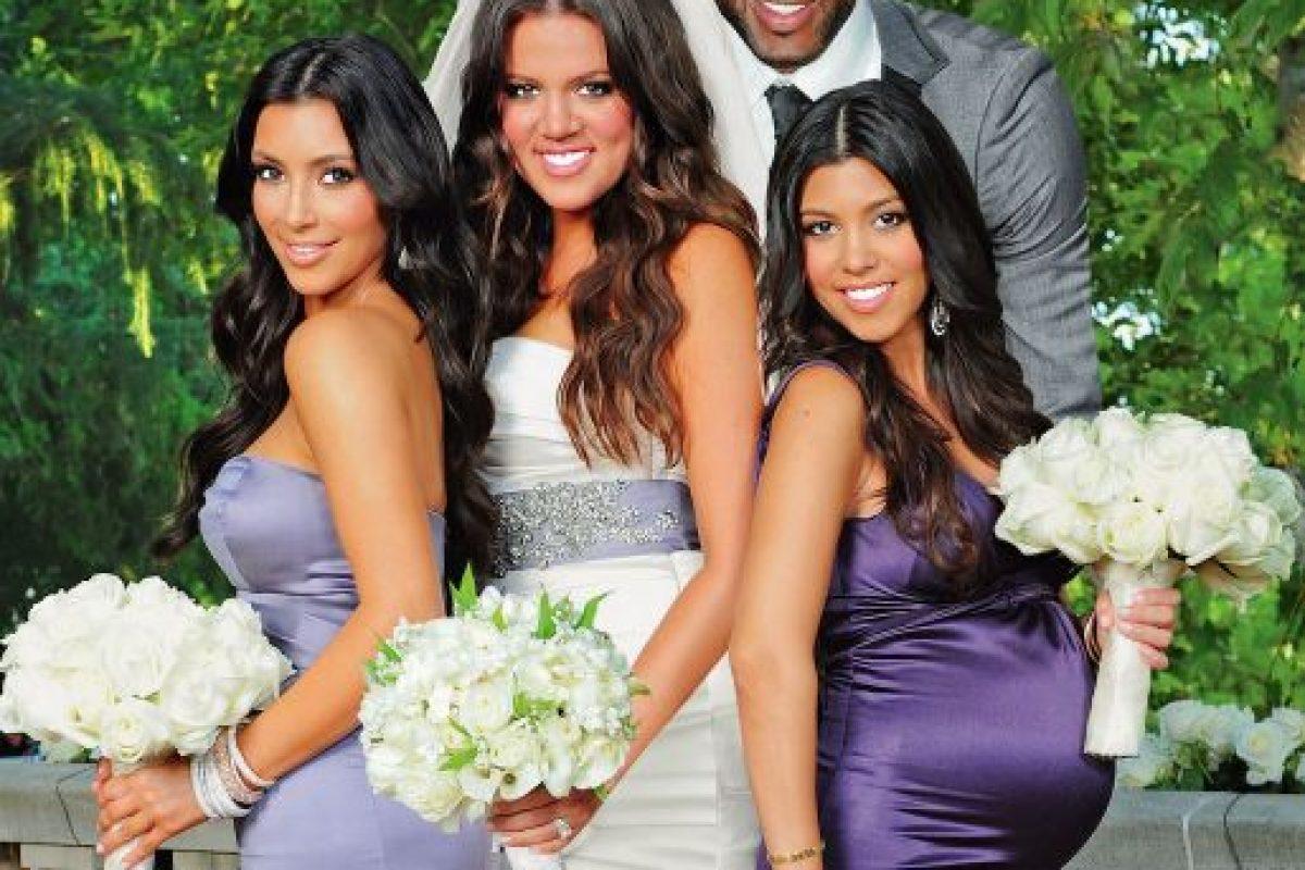 """En 2009, Khloé Kardashian y Lamar Odom se casaron a tan solo cuatro semanas de conocerse… fue lo que dicen """"amor a primera vista"""". Foto:Grosby Group. Imagen Por:"""