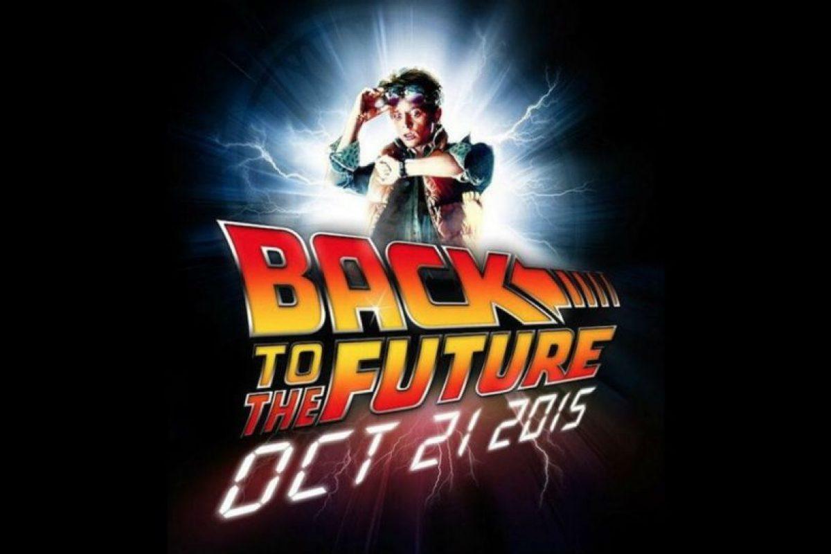 """""""Marty McFly"""" llega al futuro este 21 de octubre. Foto:instagram.com. Imagen Por:"""