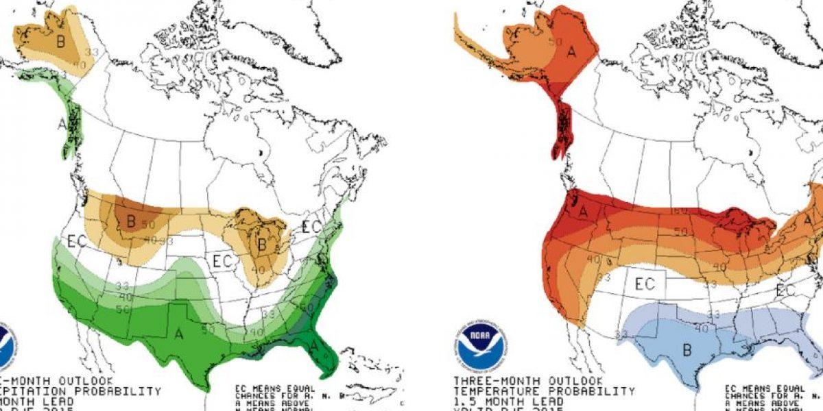 Se espera que el fenómeno de El Niño sea igual que el de 1997, el más fuerte de la historia