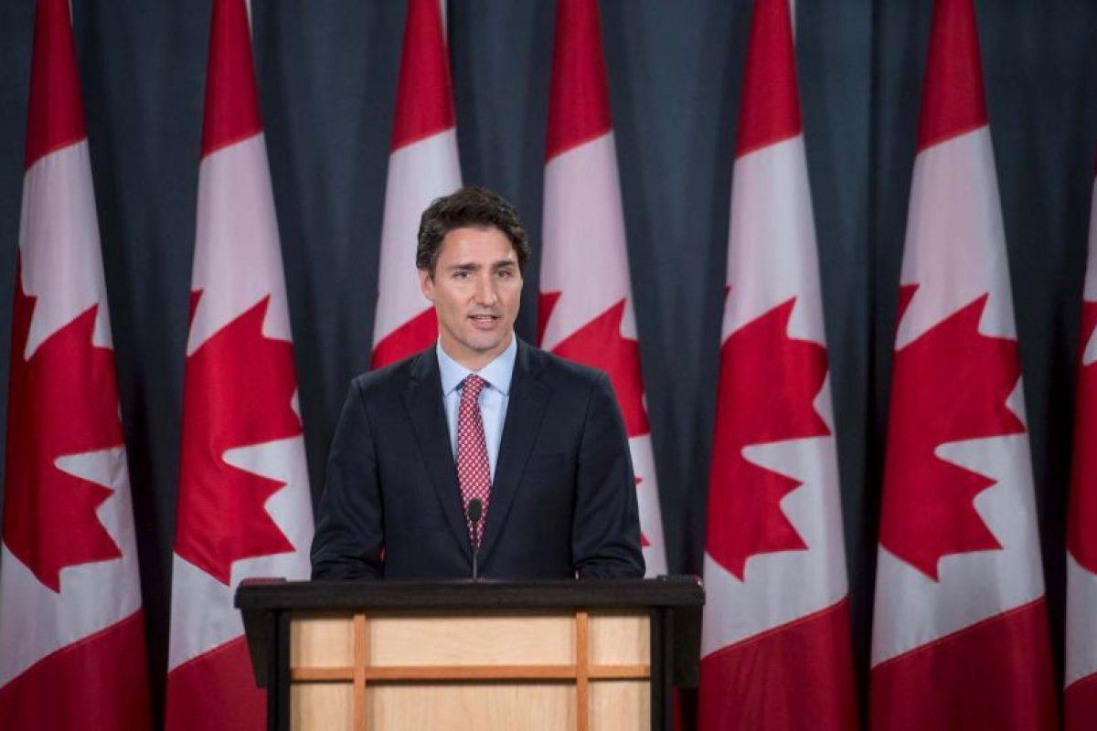 Es padre de tres niños. Xavier James Trudeau, Ella-Grace Trudeau y Hadrian Trudeau. Foto:AFP. Imagen Por: