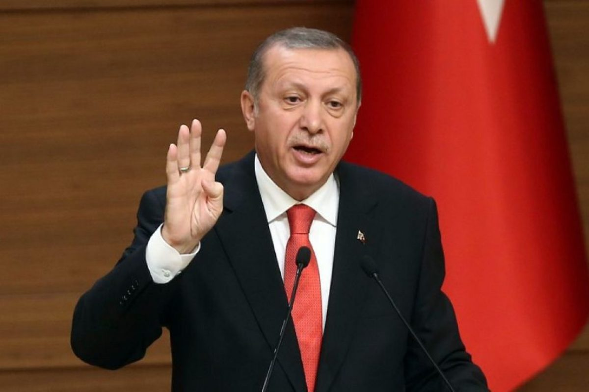 """El código penal turco que prevé hasta cuatro años de cárcel para quienes """"socaven la imagen"""" del presidente Foto:AFP. Imagen Por:"""