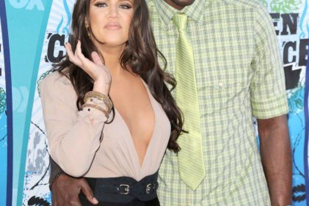Los rumores de conflictos entre la pareja comenzaron en julio de 2013 por una supuesta infidelidad por parte de Lamar. Foto:Getty Images. Imagen Por: