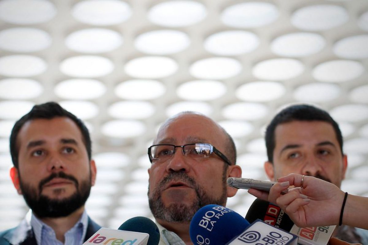 """Rolando Jiménez calificó la jornada como """"histórica"""" Foto:Agencia Uno. Imagen Por:"""