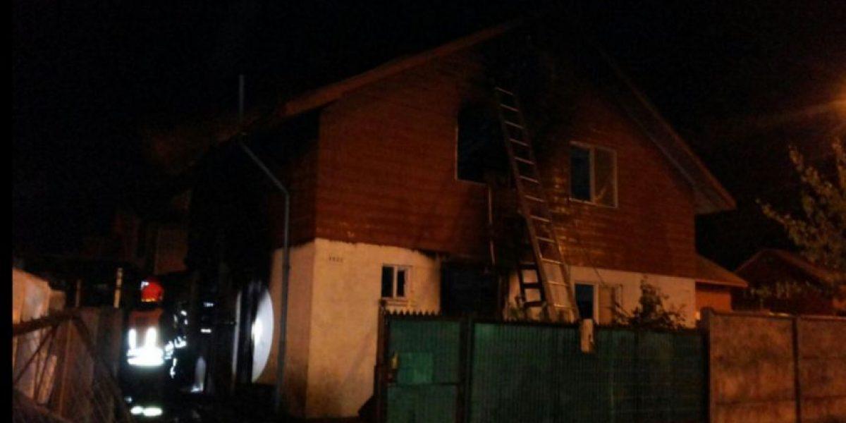 Incendio en Los Ángeles deja una mujer fallecida y dos casas quemadas