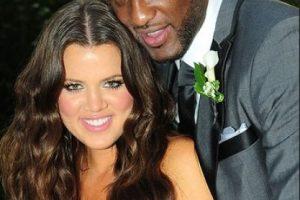 El amor entre Khloé y Lamar surgió a primera vista en agosto de 2009 durante una fiesta del basquetbolista Ron Artest. Foto:Grosby Group. Imagen Por: