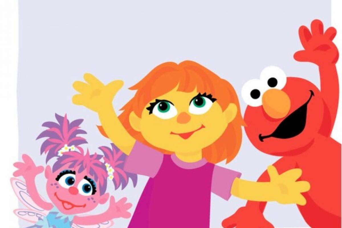 """""""Julia"""" es el primer muppet autista de """"Plaza Sésamo"""" Foto:Facebook/SesameStreet. Imagen Por:"""