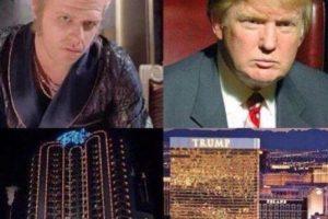 4. Ambos viven en palacios dorados y le rinden culto al dinero. Foto:Twitter. Imagen Por: