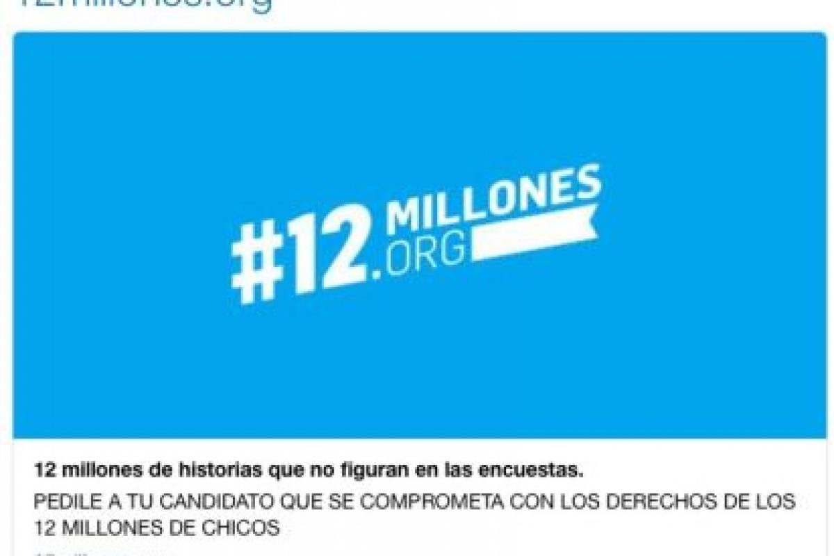 Además, envió un mensaje a UNICEF Argentina Foto:Twitter.com. Imagen Por: