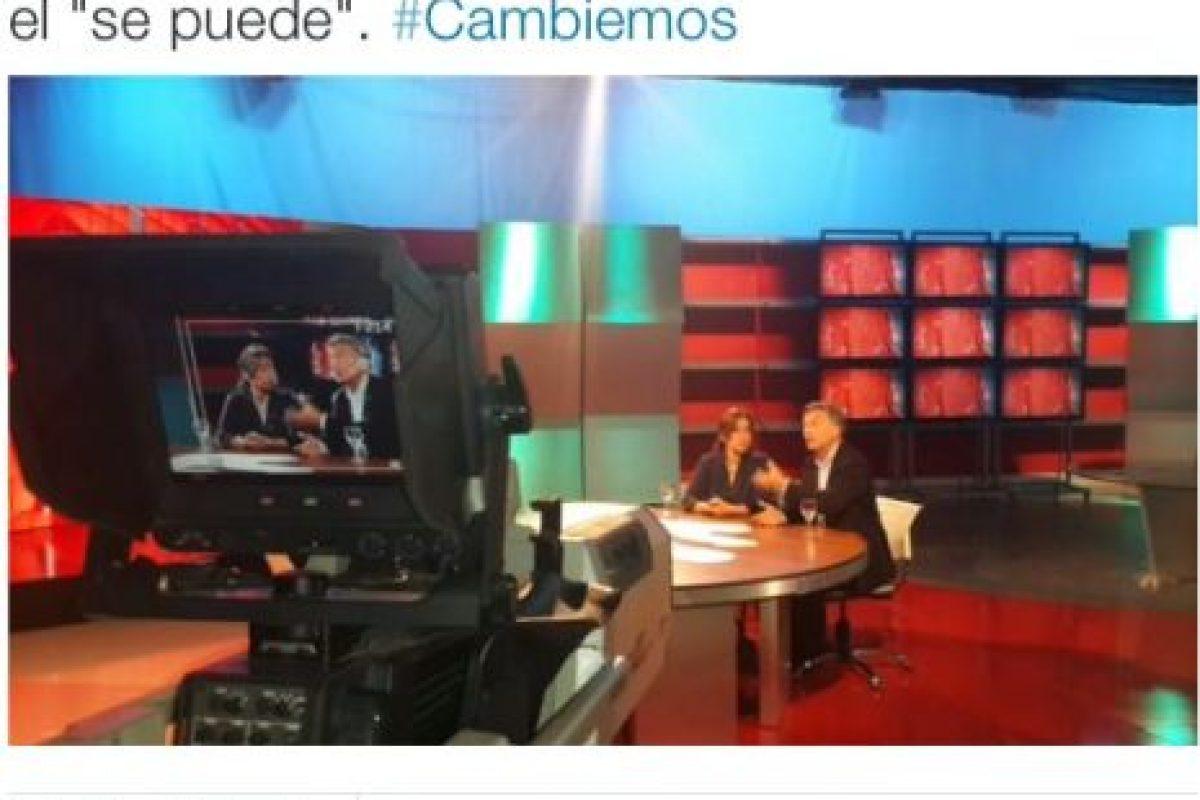 """Mauricio Macri, de la alianza """"Cambiemos"""" Foto:Twitter.com. Imagen Por:"""