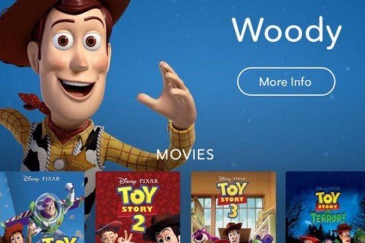 Así luce la aplicación. Foto:Disney. Imagen Por: