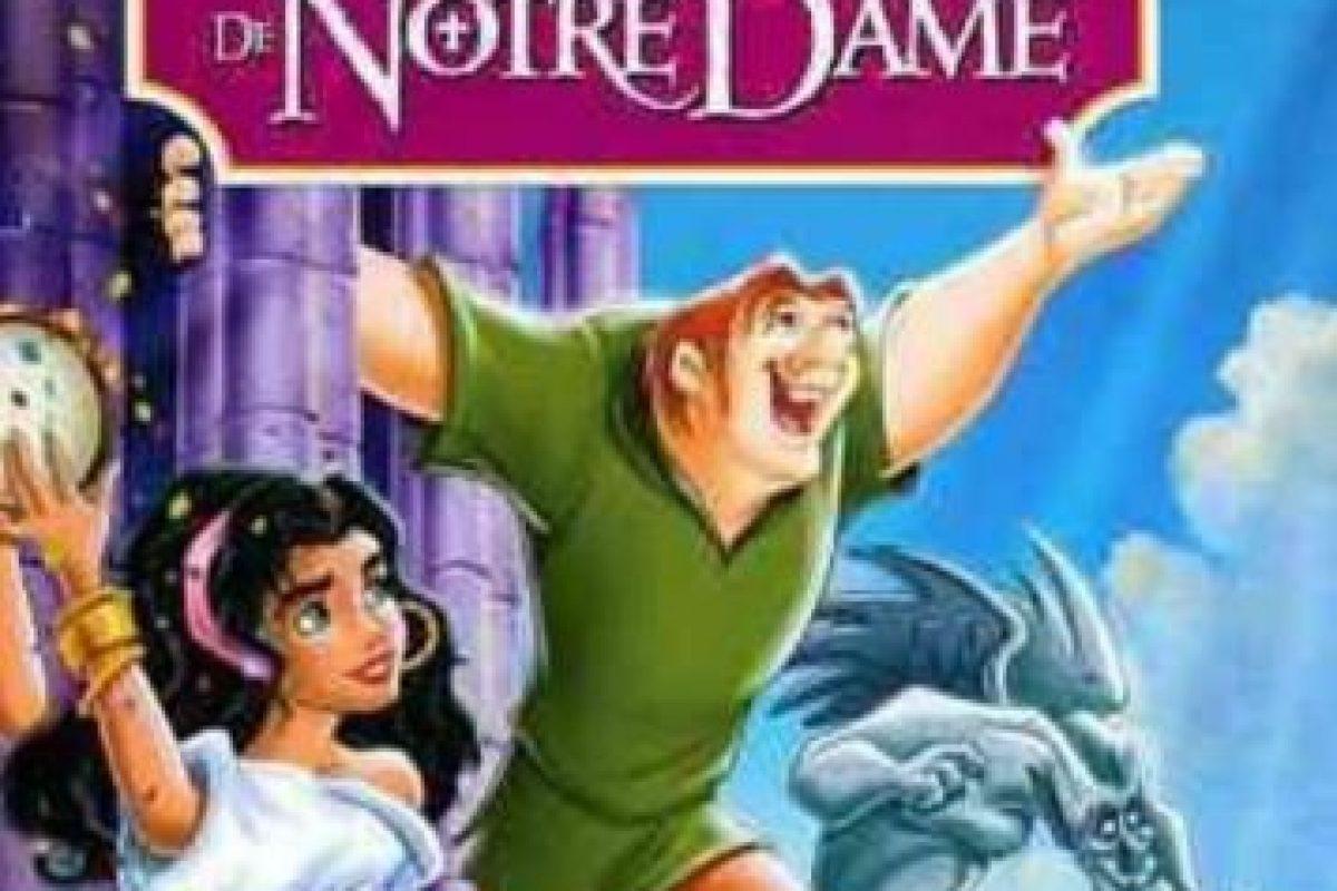 El jorobado de Notre Dame. Foto:Disney. Imagen Por: