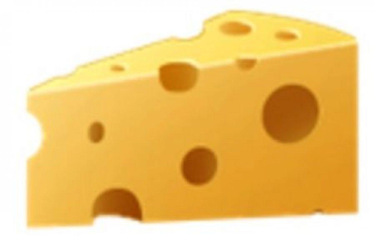 Cuarto de queso. Foto:vía emojipedia.org. Imagen Por: