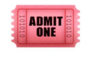 Boleto de admisión. Foto:vía emojipedia.org. Imagen Por: