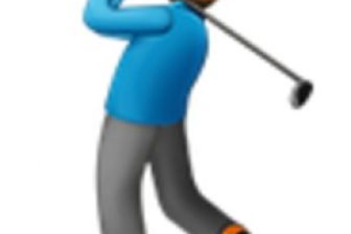 Golfista. Foto:vía emojipedia.org. Imagen Por: