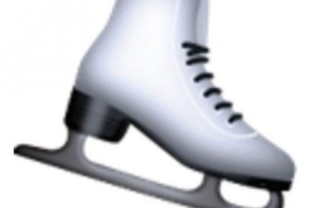 Patín para el hielo. Foto:vía emojipedia.org. Imagen Por: