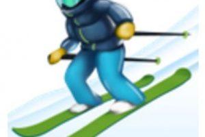 Esquiador. Foto:vía emojipedia.org. Imagen Por: