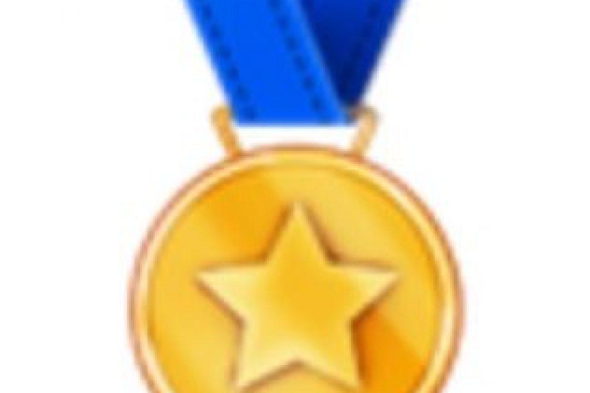 Medalla deportiva. Foto:vía emojipedia.org. Imagen Por:
