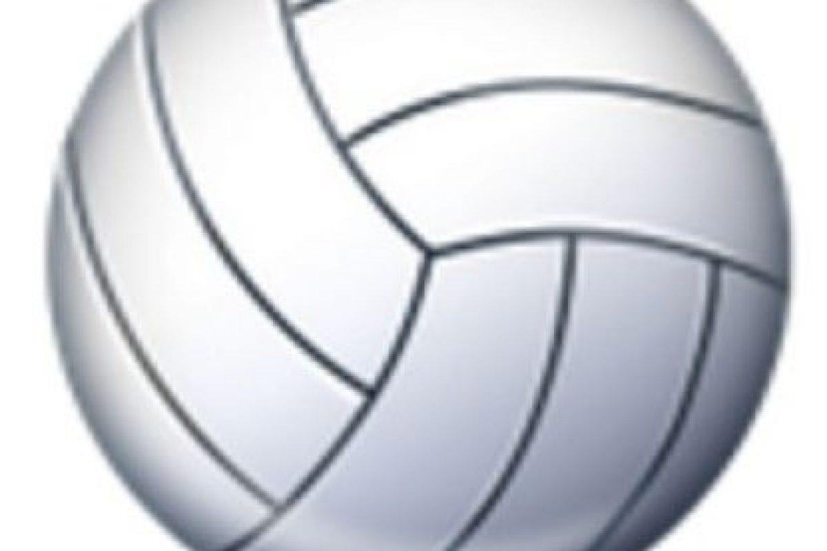 Balón de voleibol. Foto:vía emojipedia.org. Imagen Por: