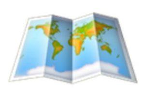 Mapa. Foto:vía emojipedia.org. Imagen Por: