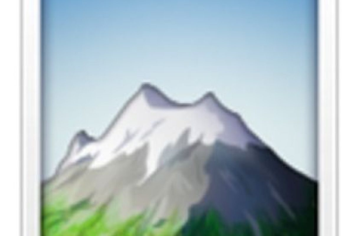 Montaña nevada. Foto:vía emojipedia.org. Imagen Por: