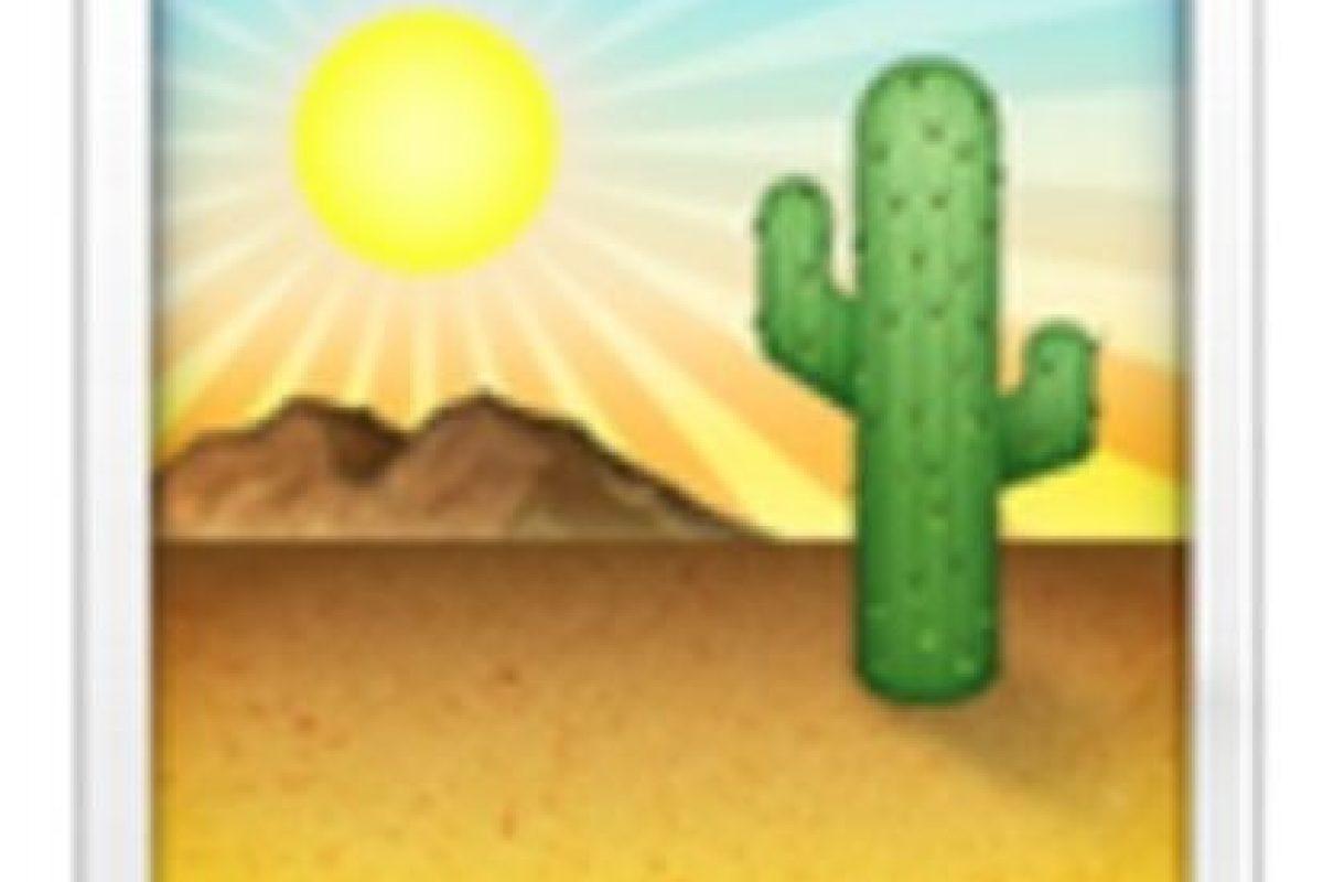 Desierto. Foto:vía emojipedia.org. Imagen Por:
