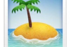 Isla desierta. Foto:vía emojipedia.org. Imagen Por: