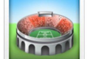 Estadio de fútbol. Foto:vía emojipedia.org. Imagen Por: