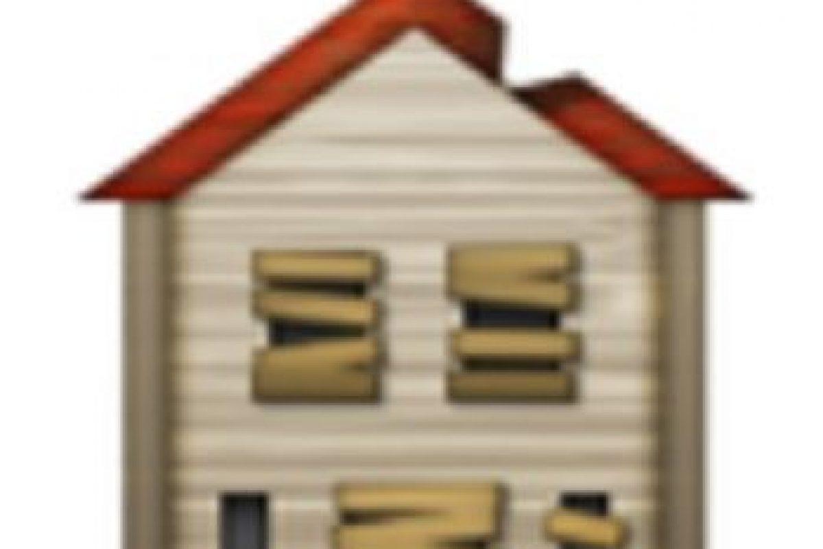 Casa abandonada. Foto:vía emojipedia.org. Imagen Por: