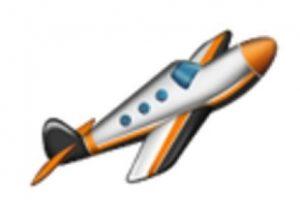 Avioneta. Foto:vía emojipedia.org. Imagen Por: