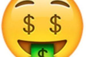 Rostro de dinero. Foto:vía emojipedia.org. Imagen Por: