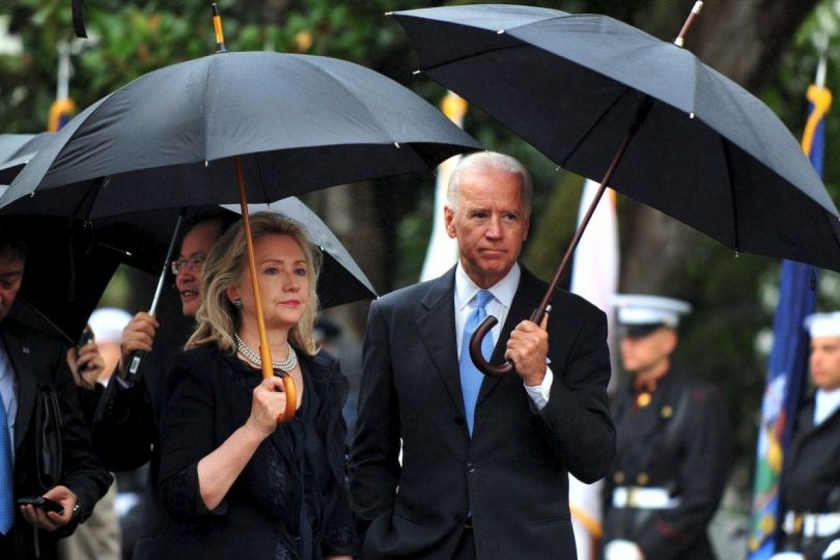 Hillary Clinton y Joe Biden, pertenecen al Partido Demócrata estadounidense. Foto:Getty Images. Imagen Por: