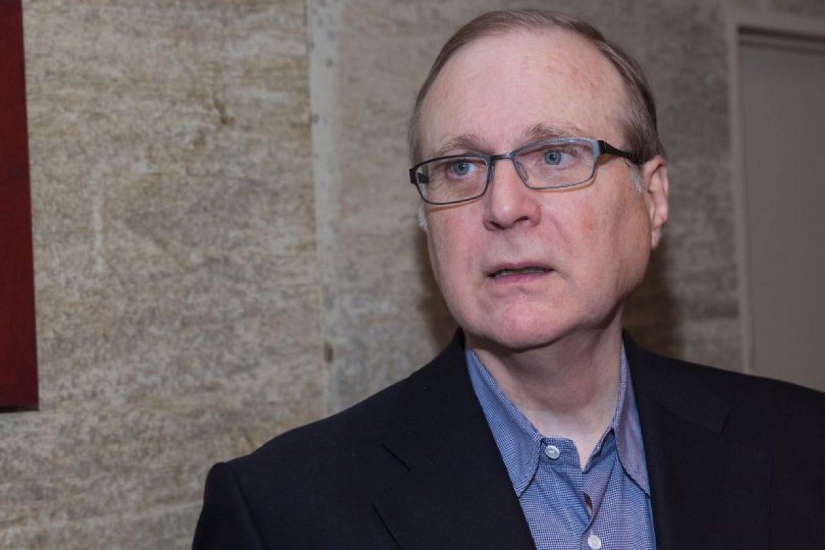 Paul Allen, cofundador de Microsoft Foto:Getty Images. Imagen Por: