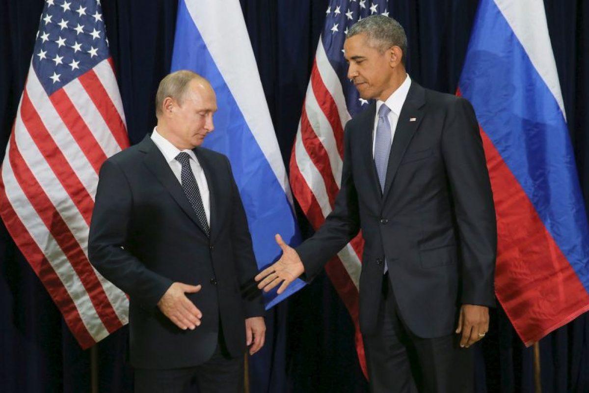 Entre los más recientes estuvo el incómodo saludo entre el presidente de Rusia Vladimir Putin y el presidnete de Estados Unidos, Barack Obama. Foto:Getty Images. Imagen Por:
