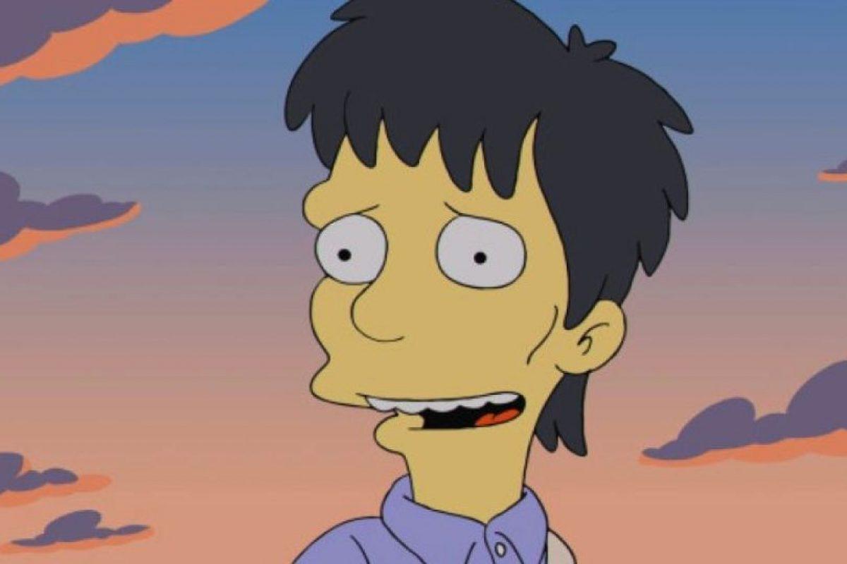 """Diggs en """"Los Simpson"""" Foto:FOX. Imagen Por:"""