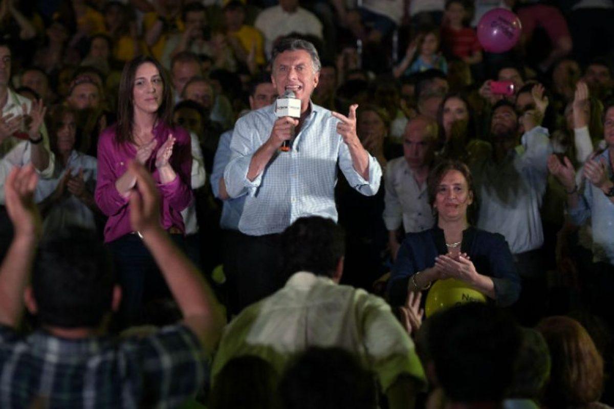 El jefe de gobierno de la ciudad de Buenos Aires Mauricio Macri, de la alianza Cambiemos. Foto:AFP. Imagen Por:
