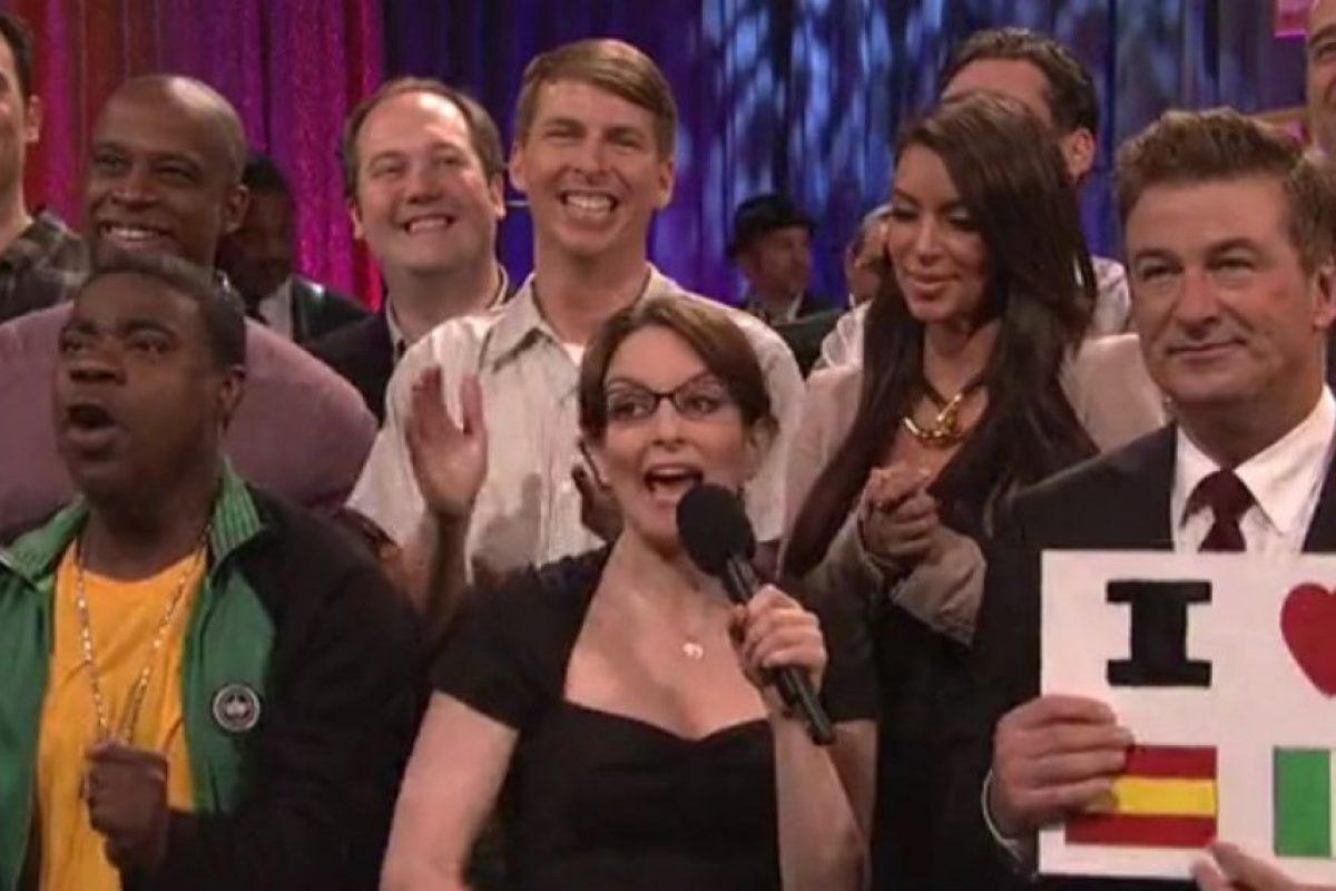 """En 2012, fue invitada del show de comedia """"30 Rock"""". Foto:vía YouTube. Imagen Por:"""