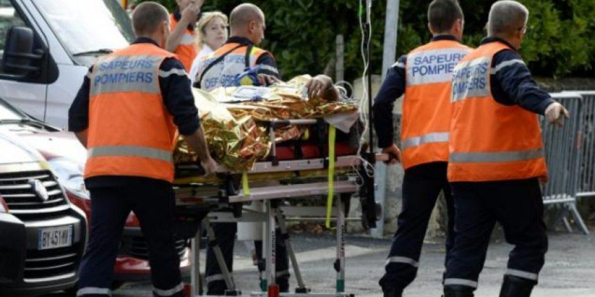 Choque fatal: mueren 42 personas en Francia en el peor accidente vial en 30 años