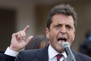 Y el diputado nacional Sergio Massa, de Unidos por una Nueva Alternativa Foto:AP. Imagen Por: