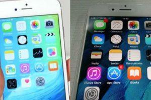 ¿Pueden identificar cuál es el iPhone falso y cuál el original? Foto:YouTube / Especial. Imagen Por: