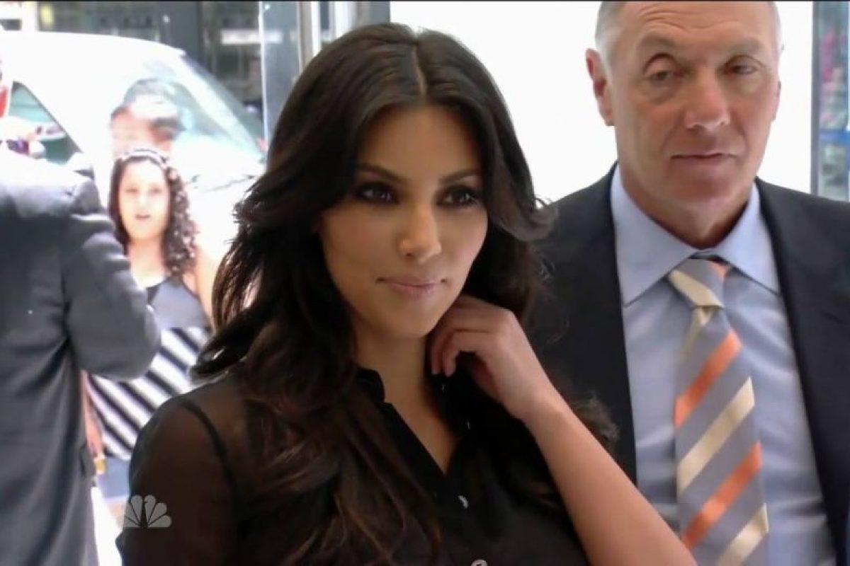 """En 2010, Kim Kardashian apareció en el reality show que conducía Donald Trump, """"The Apprentice"""". Foto:vía YouTube. Imagen Por:"""