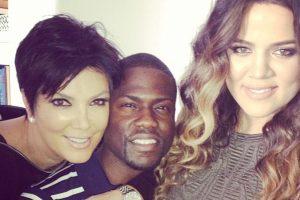 """Kris Jenner y Khloé Kardashian compartieron créditos con Kenvin Hart en """"Real Husbands of Hollywood"""". Foto:vía instagram.com/kevinhart. Imagen Por:"""