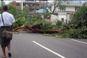 Ciclón Nargis (2008). Arrasó con Birmania matando a 138 mil personas. Los daños se estimaron en 10 billones de dólares. Foto:Vía Wikimedia Commons. Imagen Por:
