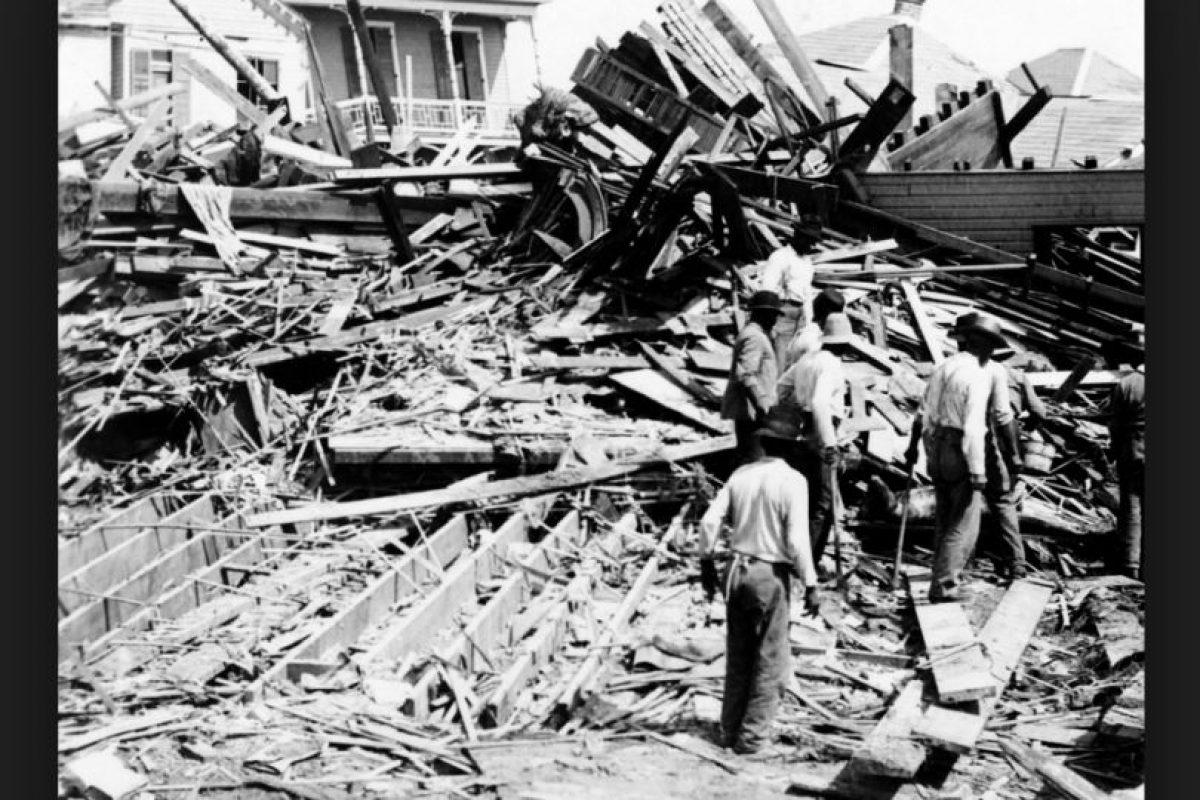 Huracán Galveston tuvo lugar en Texas, Estados Unidos, el 8 de septiembre del año 1900. Se calculan entre seis mil y 12 mil personas muertas Foto:Vía Wikimedia Commons. Imagen Por: