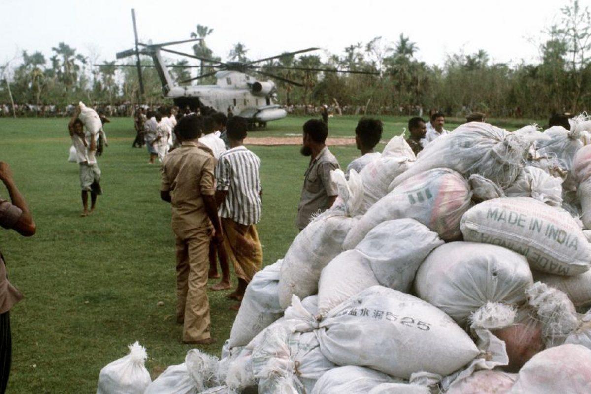 1991, Ciclón de Bangladesh. Otra tragedia en la India se debió a un ciclón categoría 5. Mató a 138 mil personas. Foto:Vía Wikimedia Commons. Imagen Por: